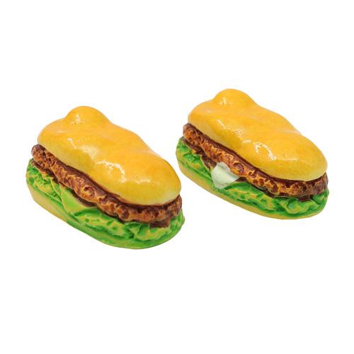3AS-157 Миниатюра. Сэндвич, 1.8см, 2 шт/упак