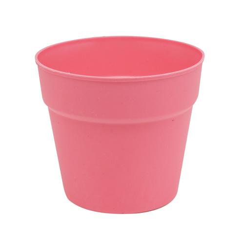 3AS-199 Цветочный пластиковый мини-горшок , 6.7*6.3см, 2 шт/упак
