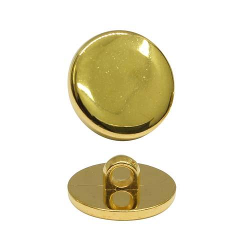Пуговица 0315-1144 28L 'таблетка' (золото) фото