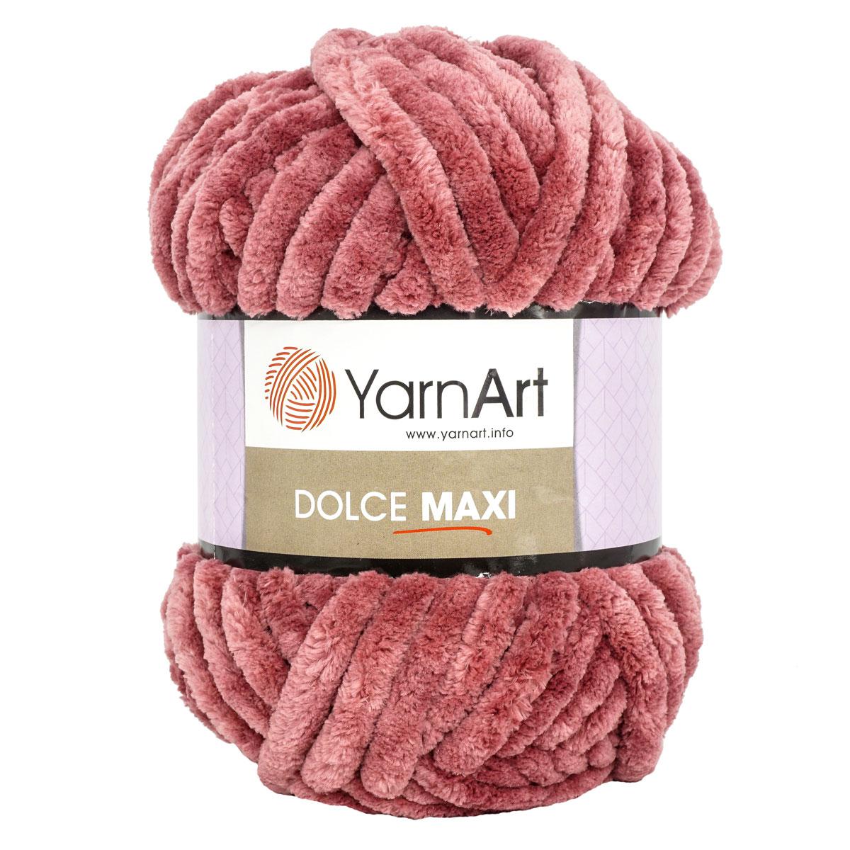 Пряжа YarnArt 'Dolce Maxi' 200г 70м (100% микрополиэстер)