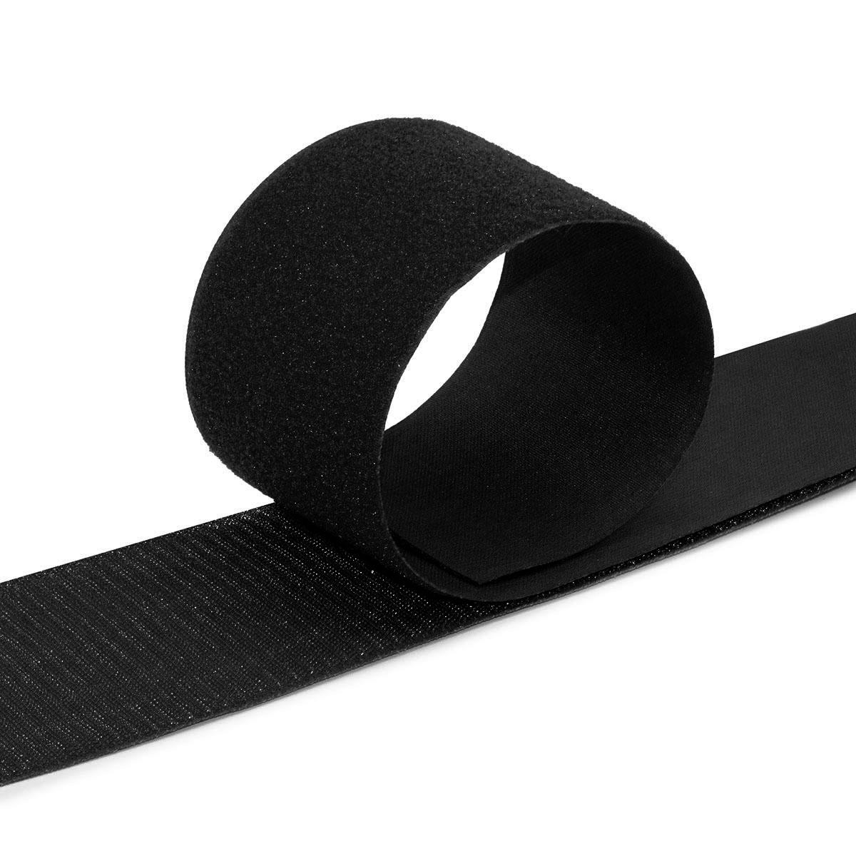 Лента контактная 100мм*25м (белый, черный)