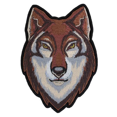 Термоаппликация 'Бурый волк' 13*9см Hobby&Pro
