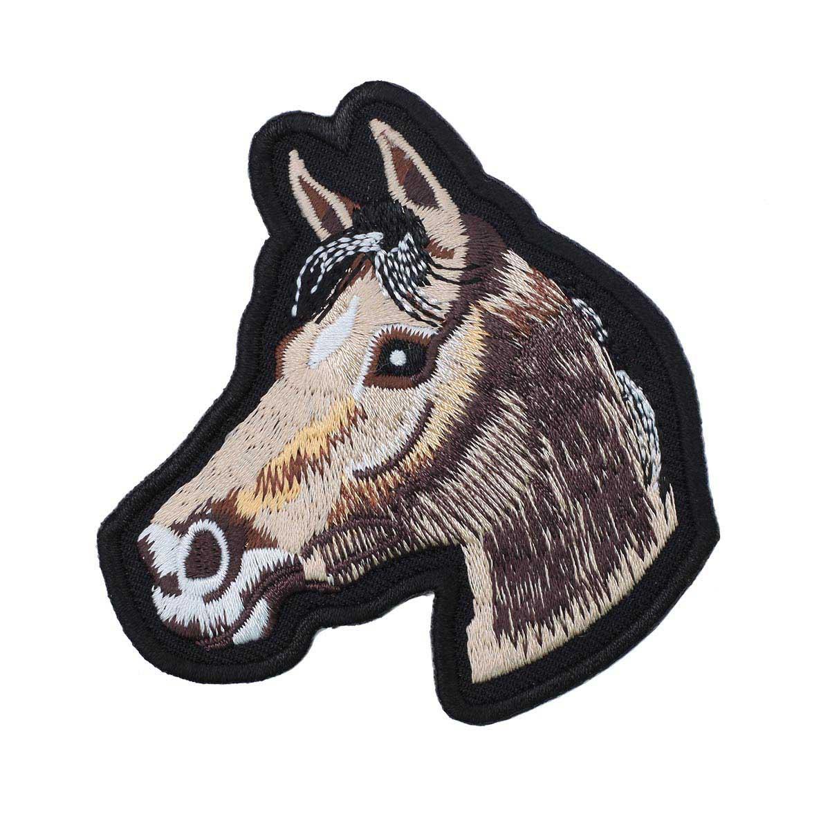 Термоаппликация 'Лошадь' 7,7*8см Hobby&Pro
