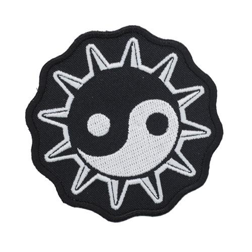 Термоаппликация 'Инь-Янь-2' 7,5см Hobby&Pro
