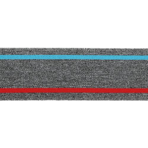 1AS-223 Лента эластичная декоративная 4см розничная упаковка