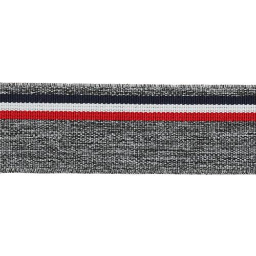 1AS-224 Лента эластичная декоративная 3см розничная упаковка