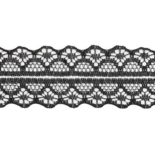 1658-2 Кружево сетка нейлон 3см*45,7м