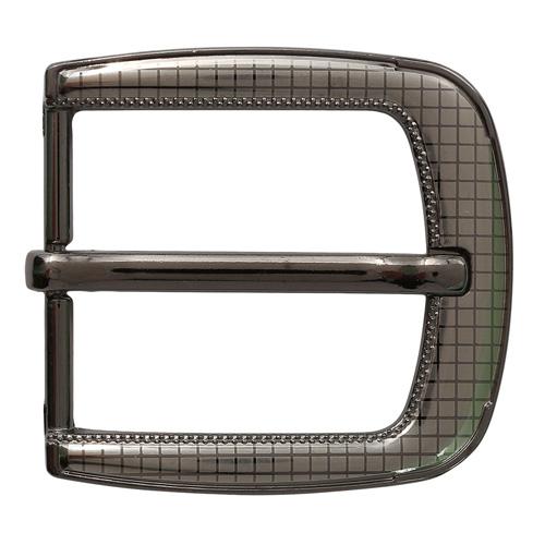1236 Пряжки металл 6см*5,5см, черный никель ДУ