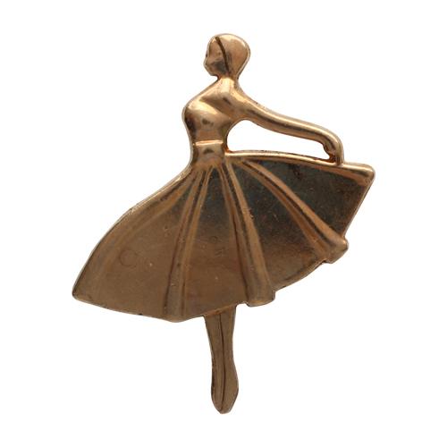 22215 Декоративные украшения клеевые Балерина