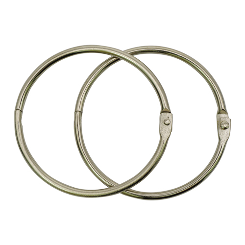 R123 Кольца металл 50мм 2шт/упак