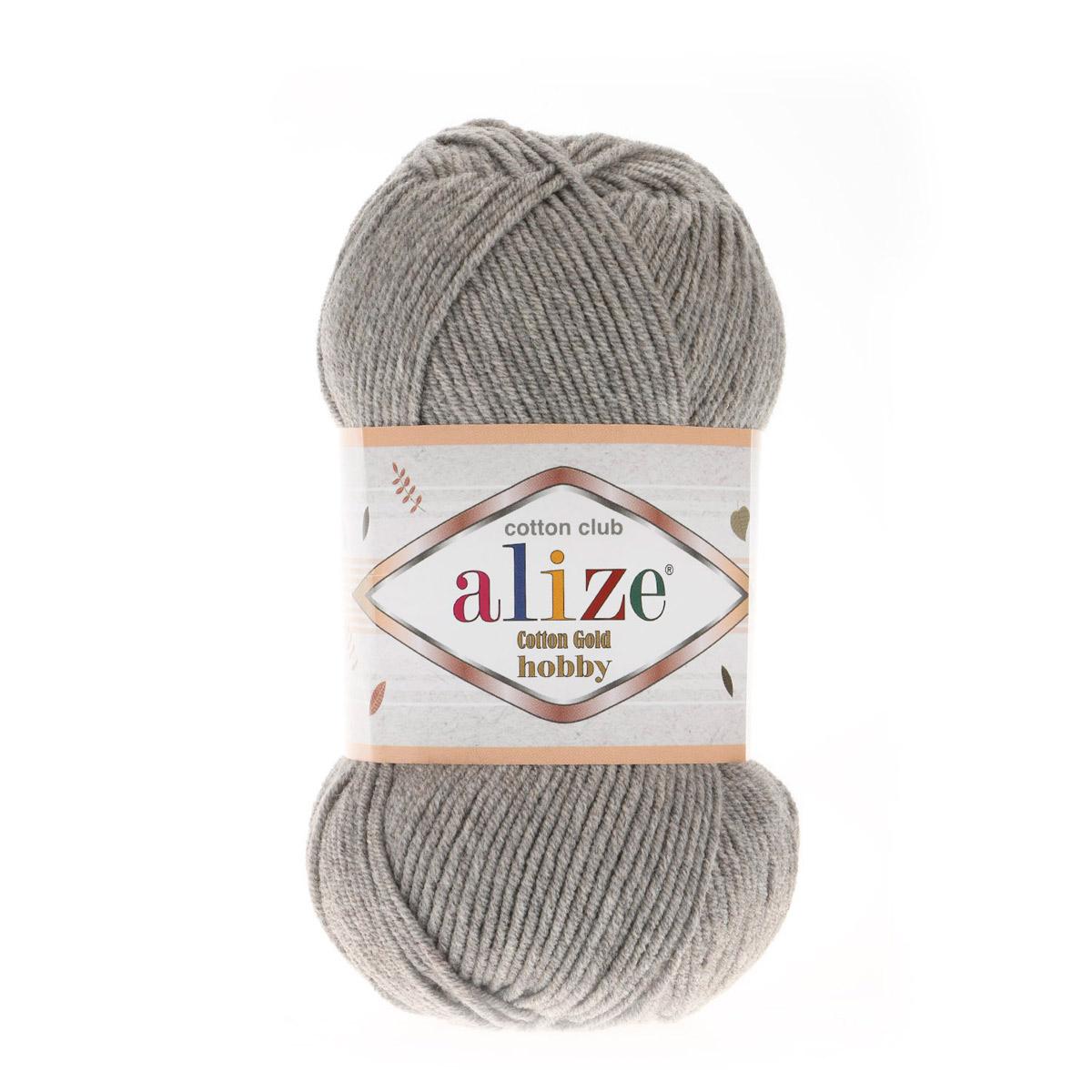 Пряжа Alize 'Cotton Gold Hobby' 50г 165м (55% хлопок, 45% акрил)
