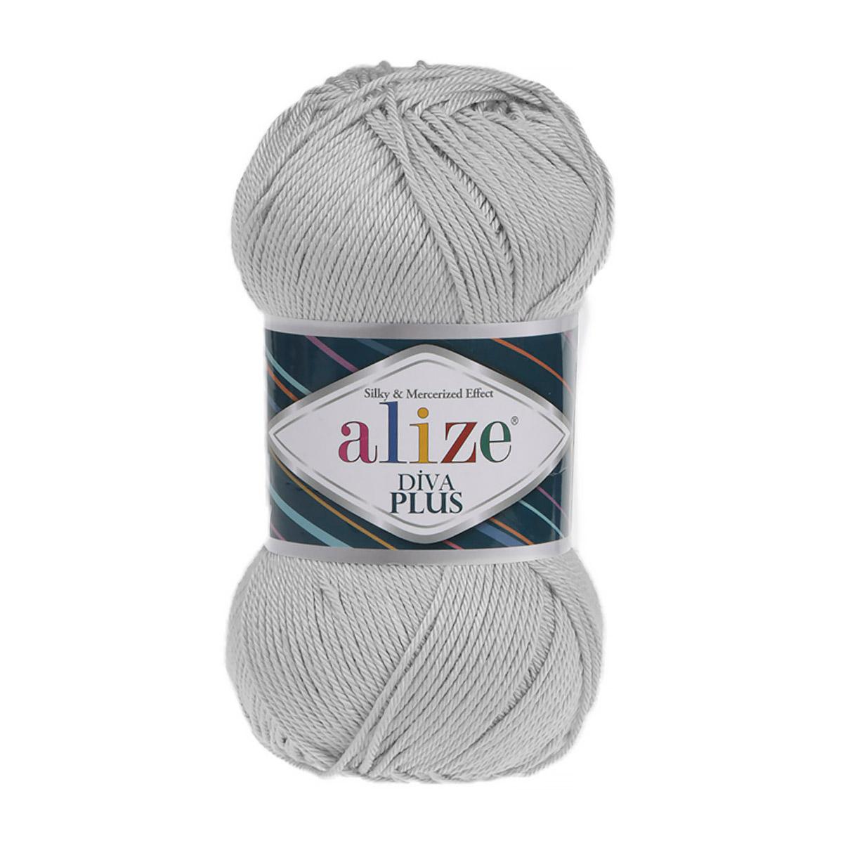 Пряжа Alize 'Diva Plus' 100г 220м (100% микрофибра акрил)