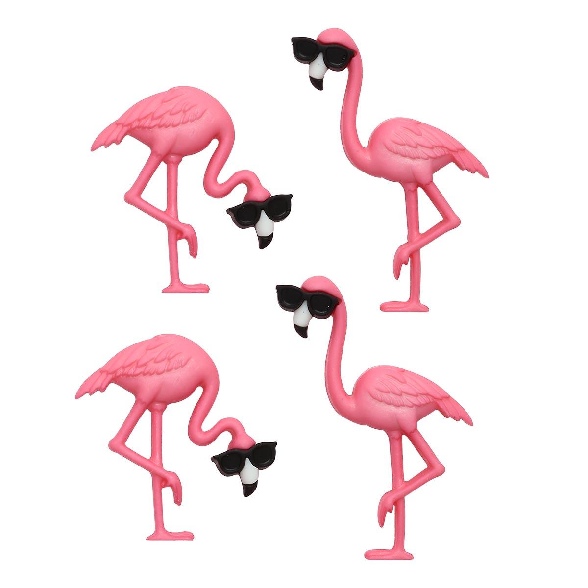 10407 Фигурки. Розовые фламинго Dress It Up