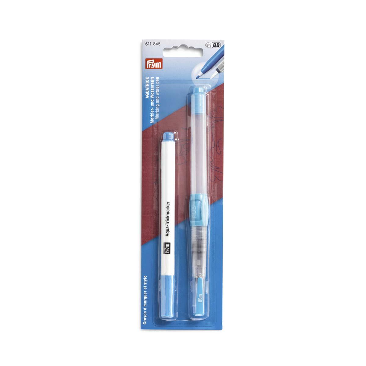 611845 Аква-трик-маркер+карандаш водяной Prym