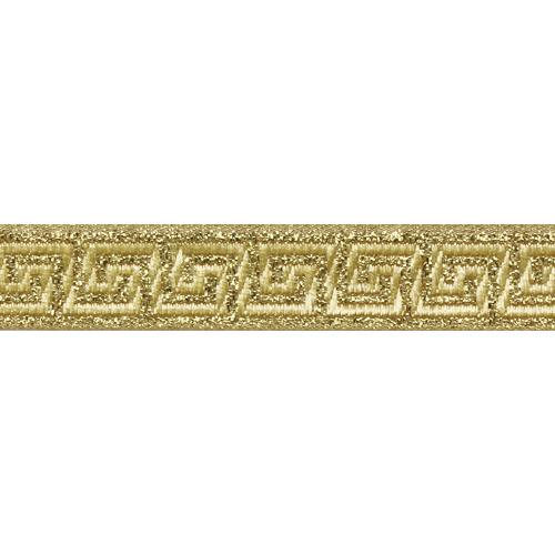 35062 Тесьма металлизированная 'Меандр' 15мм*10м