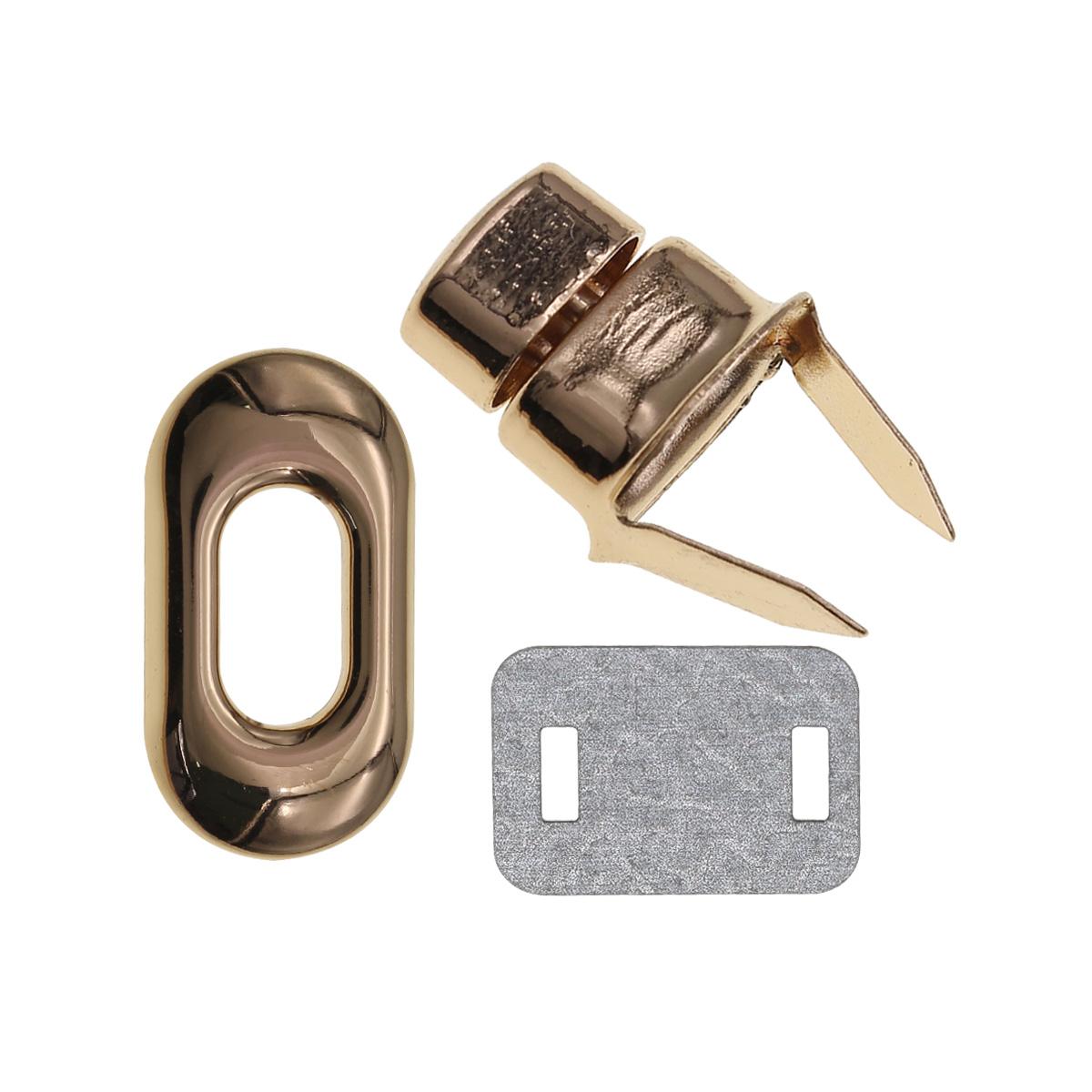 2AR062 Застёжка поворотная для сумки 40*20мм
