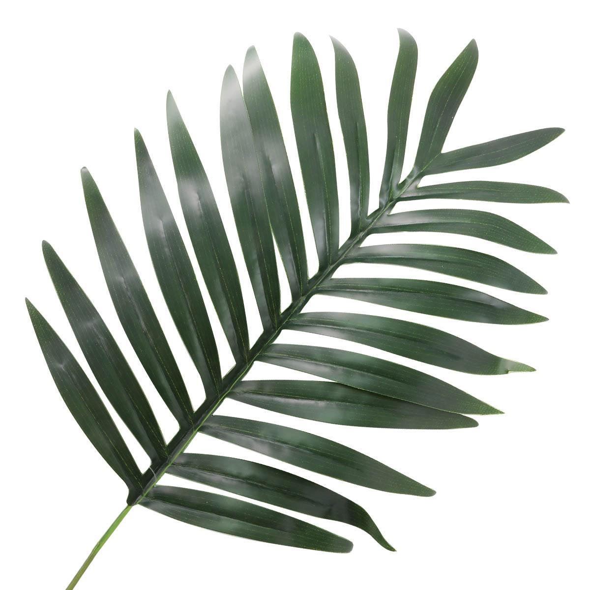 HY125-48004 Цветок искусственный 'Лист пальмы' 58*28см