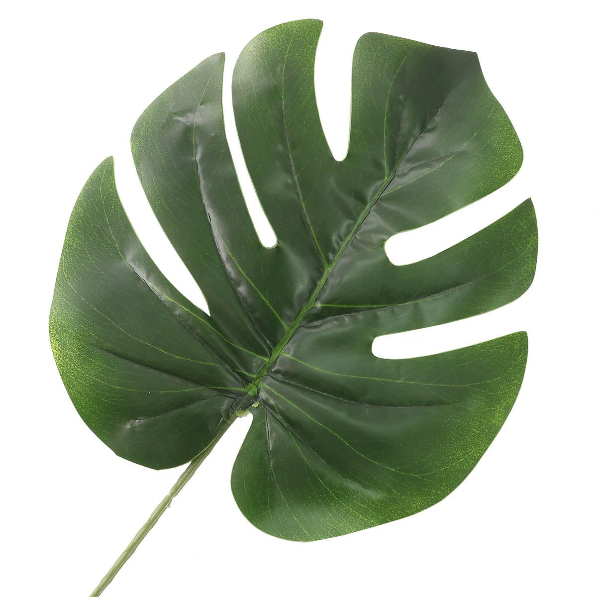 HY125-48001A Цветок искусственный 'Монстера' 62*20см