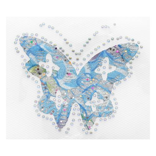 Термоаппликация Бабочка голубая