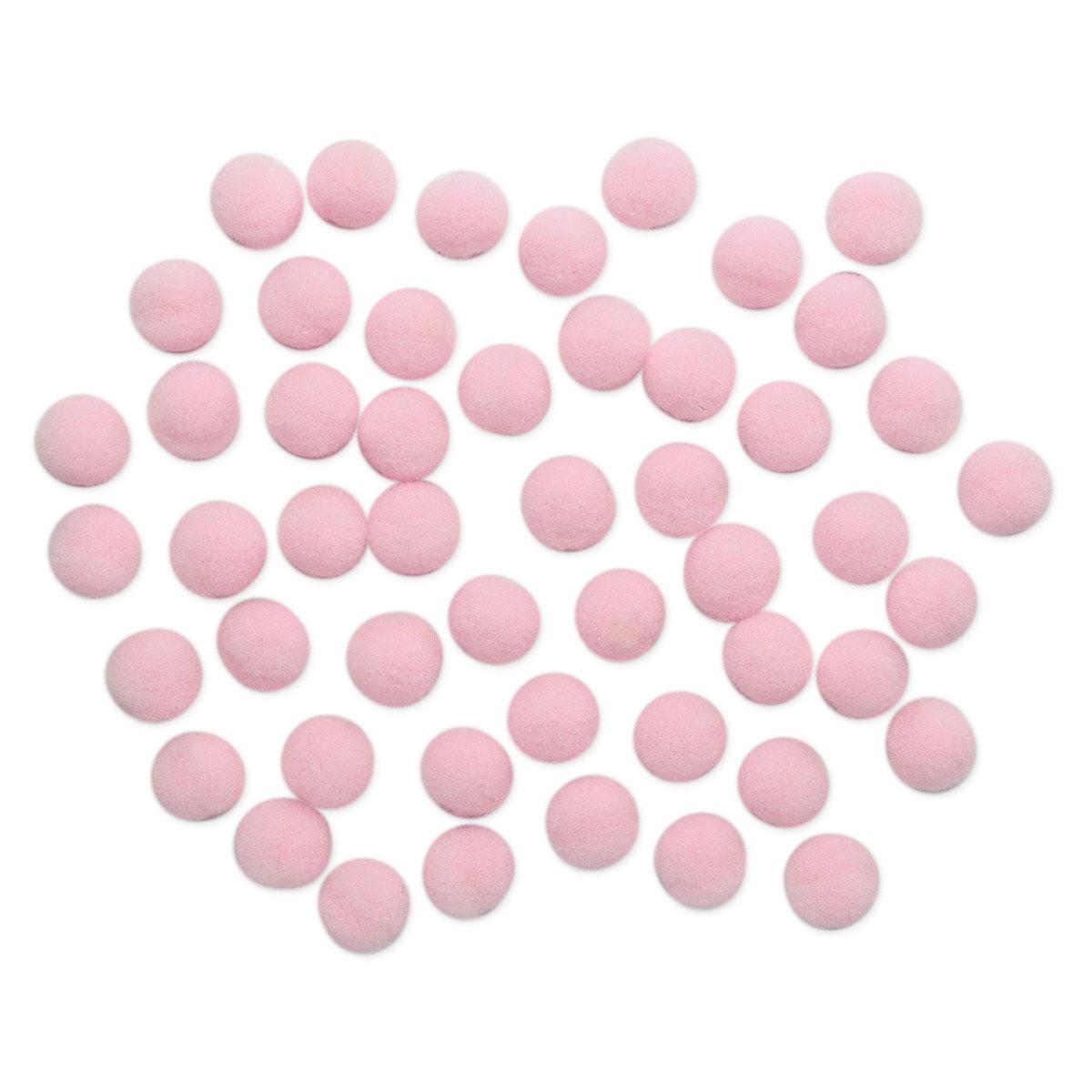 AR077 Помпоны, 1см (15 розовый)
