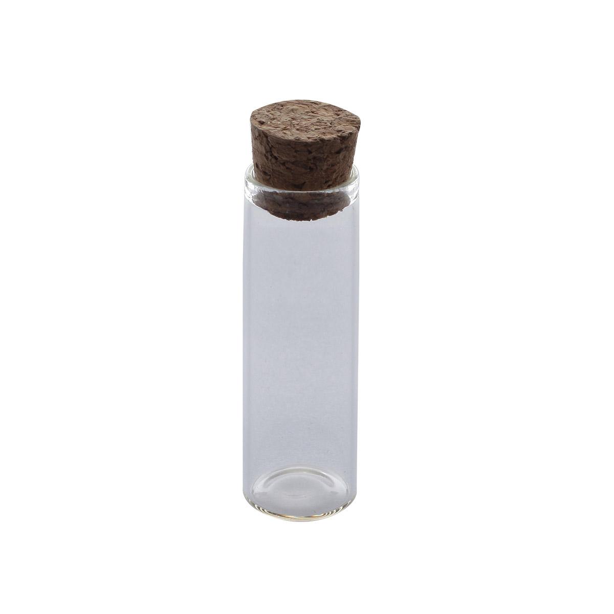 AR272 Стеклянная бутылочка с пробкой 1,6*5см