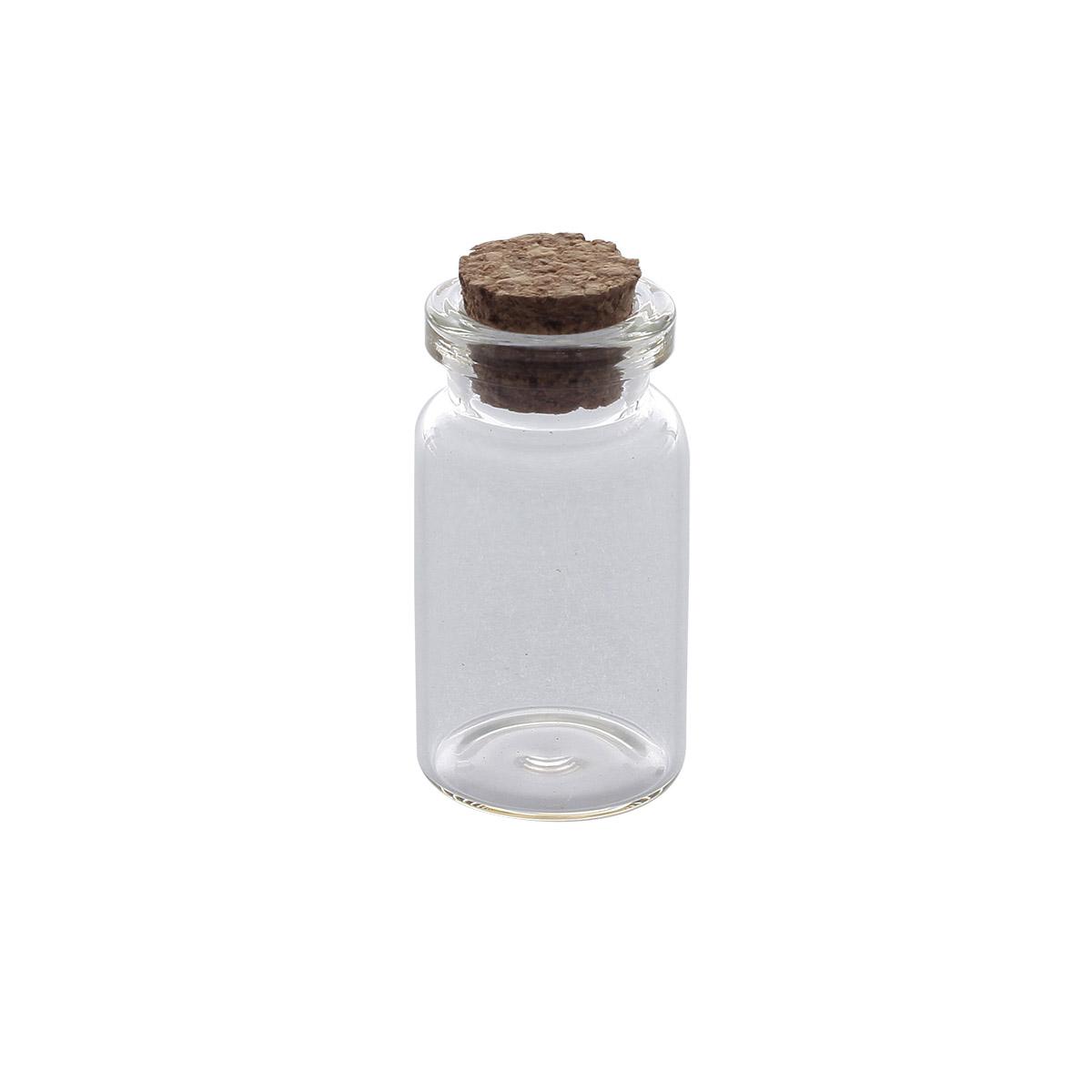 AR273 Стеклянная бутылочка с пробкой 2,2*4см