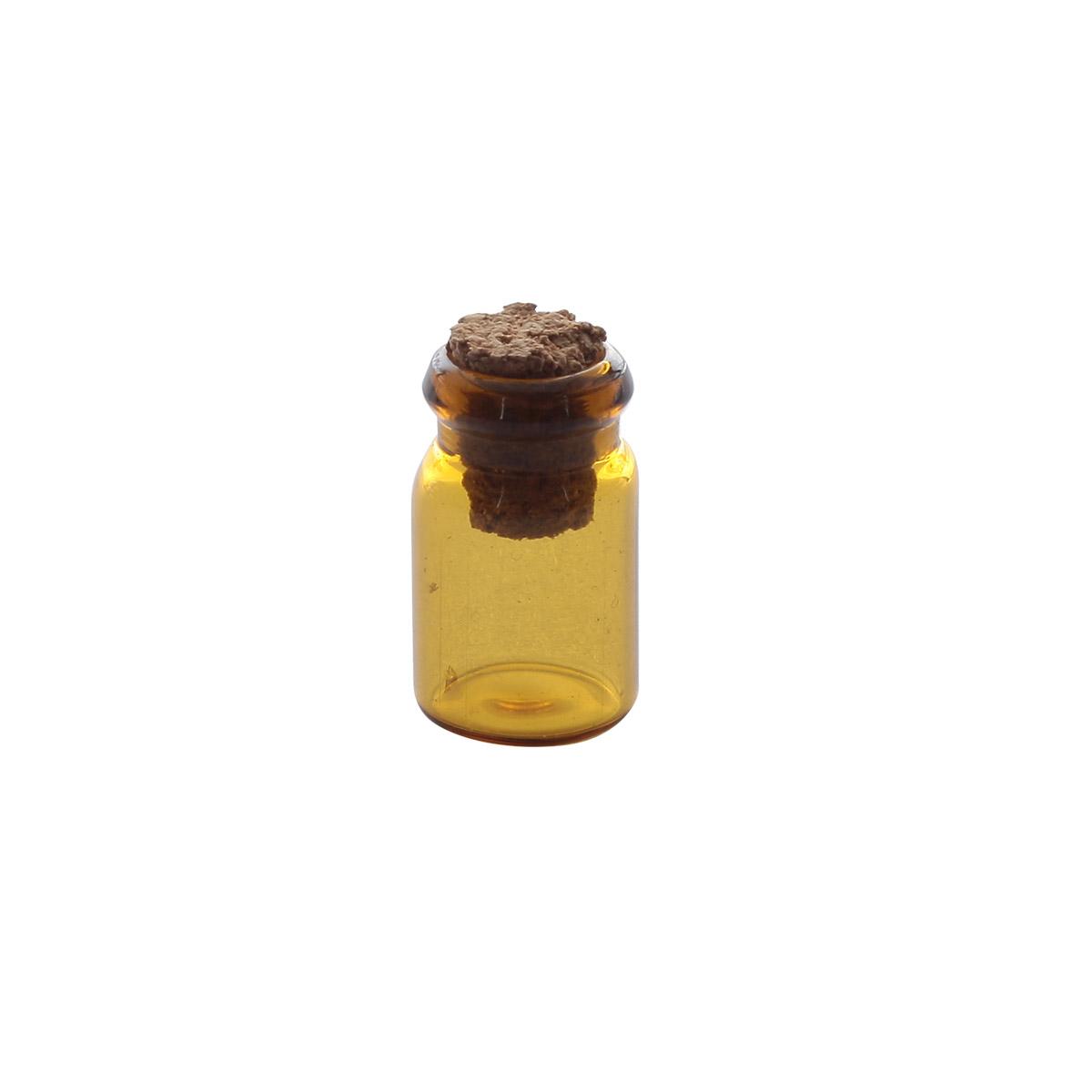 AR275 Стеклянная бутылочка с пробкой 1,1*8см