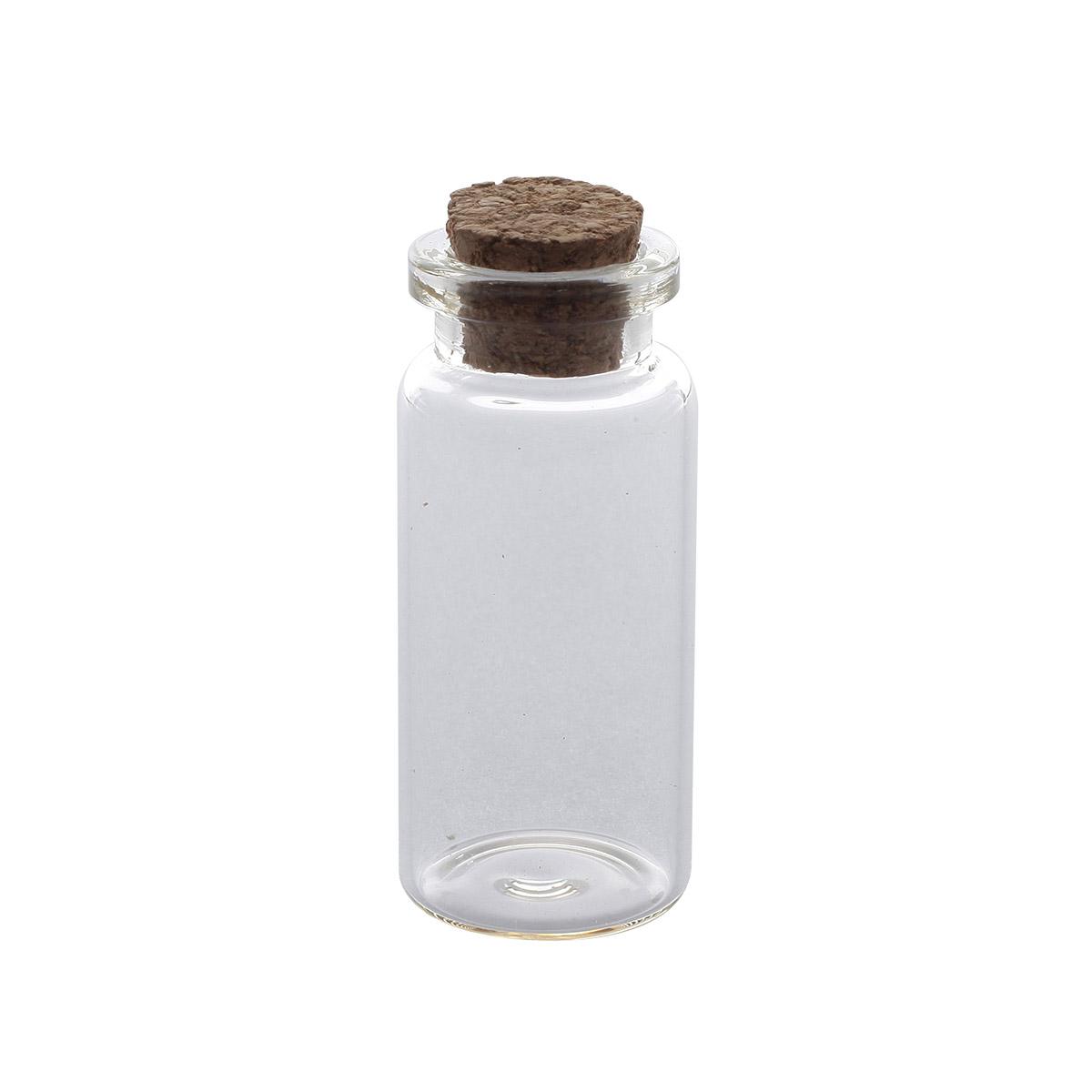 AR280 Стеклянная бутылочка с пробкой 2,2*5см