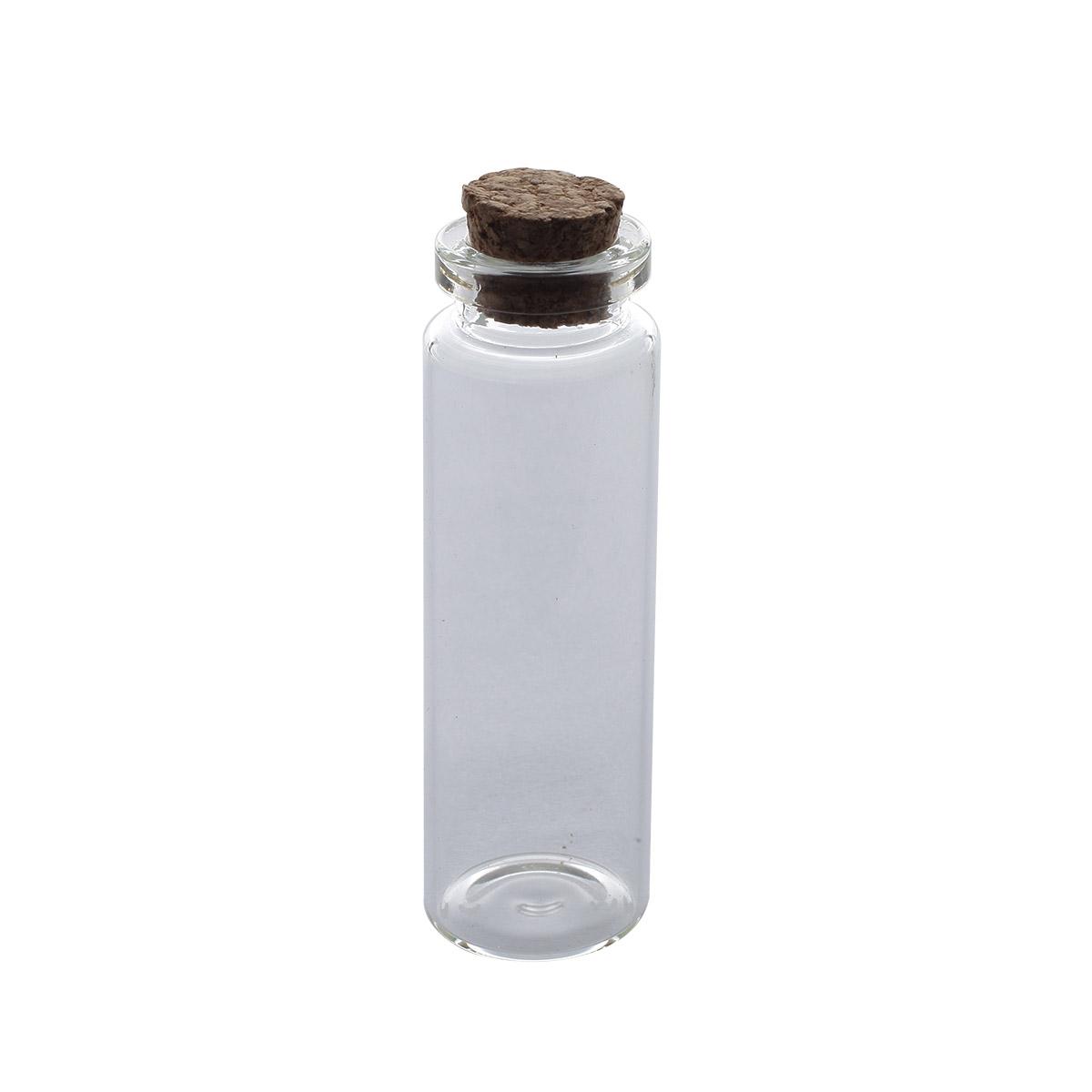 AR282 Стеклянная бутылочка с пробкой 2,2*7см