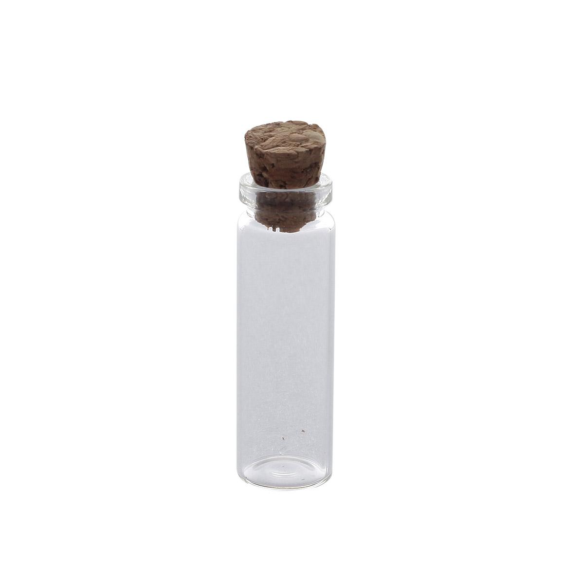 AR290 Стеклянная бутылочка с пробкой 1,1*3см