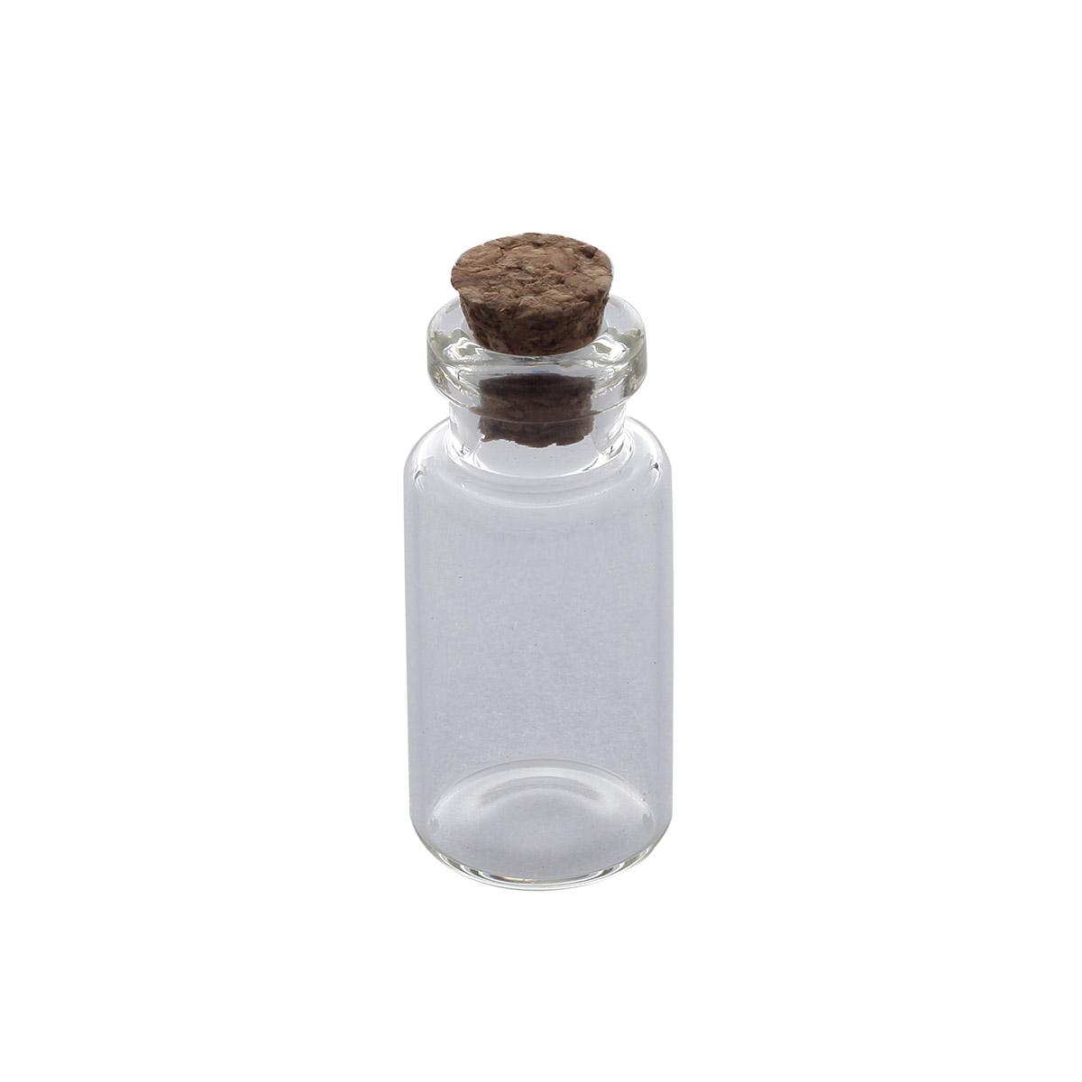 AR291 Стеклянная бутылочка с пробкой 1,6*3см