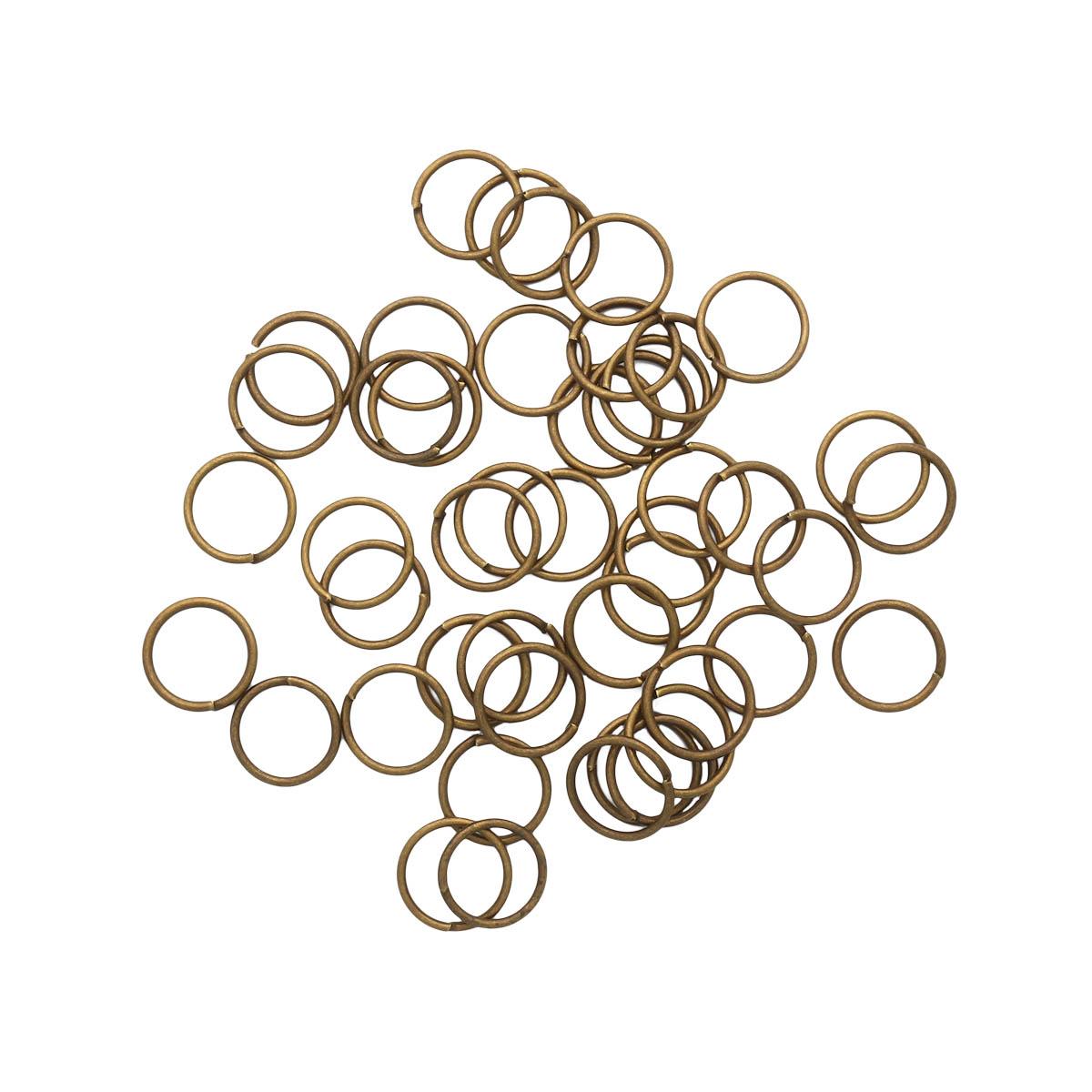 4AR247/248/249 Кольцо соединительное 0,9*10мм, 50шт/упак, Астра