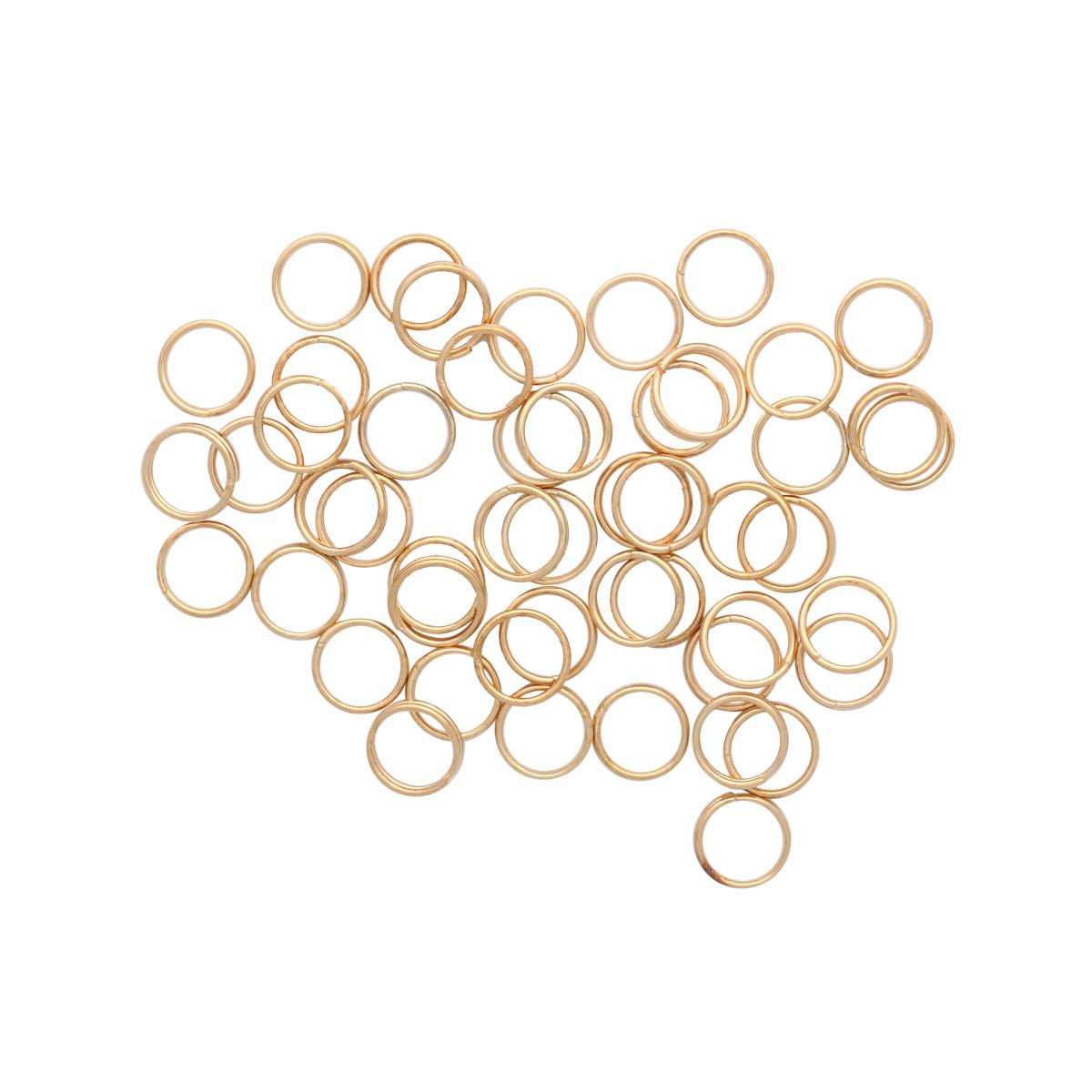 4AR255/256 Кольцо соединительное двойное, 8мм, 50шт/упак, Астра