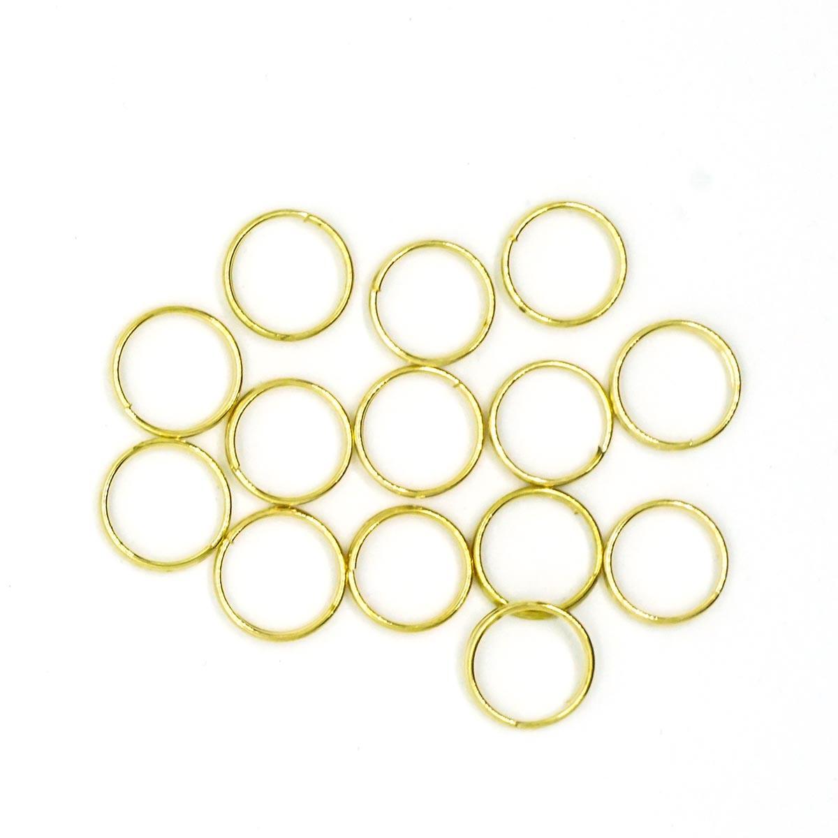 4AR257/258 Кольцо соединительное двойное, 10мм, 50шт/упак, Астра