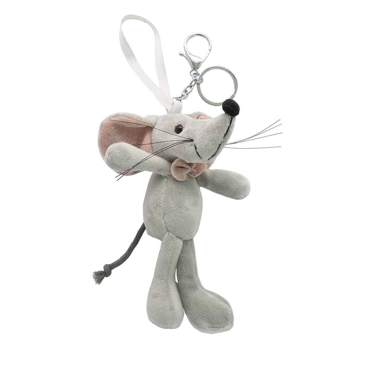 AR485 Фигурка декоративная мышка, 14см