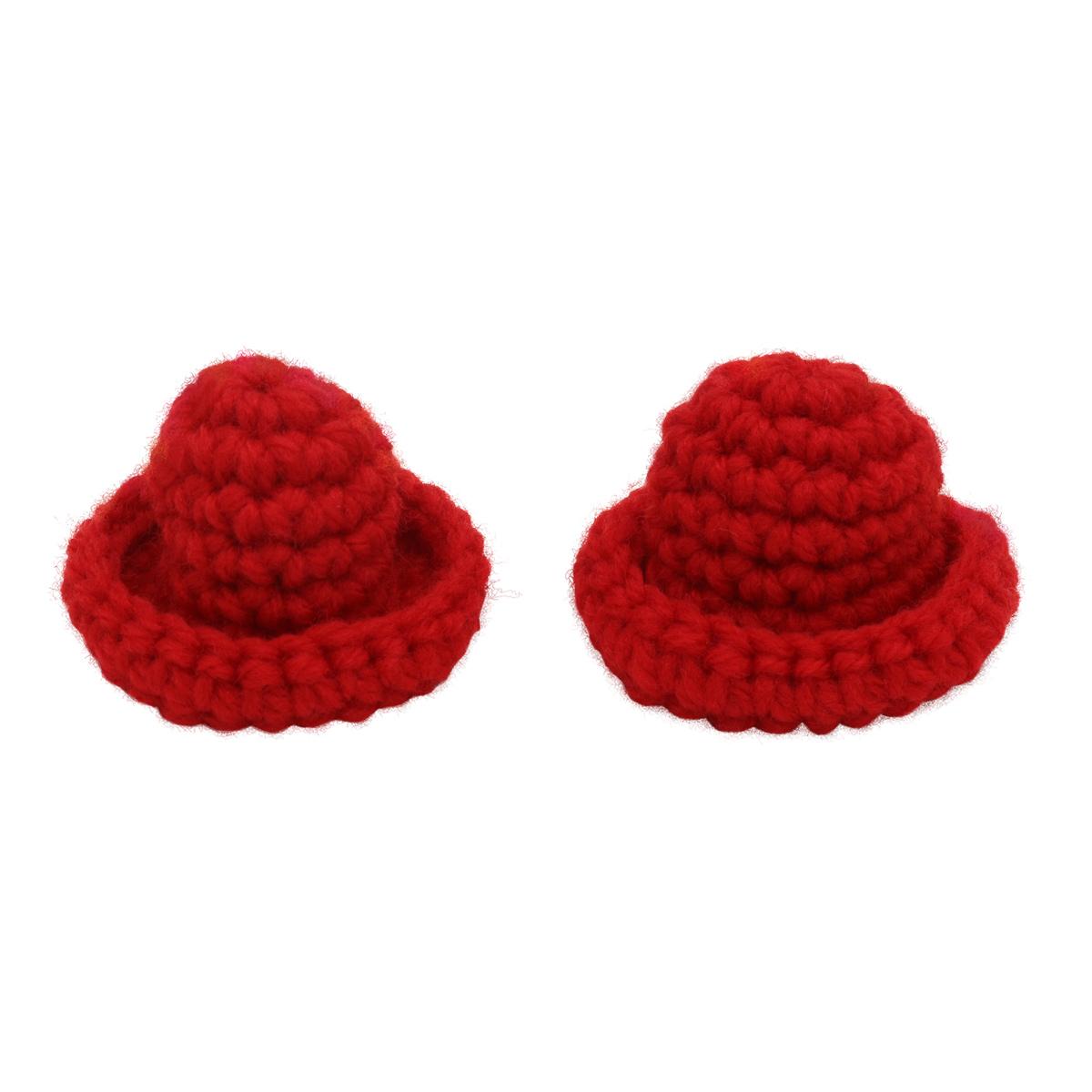 AR532 Шляпка для кукол 6см, 2шт/упак