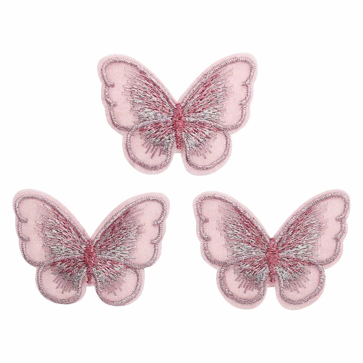 AR535 Бабочки пришивные 5,5*4см, 10шт/упак