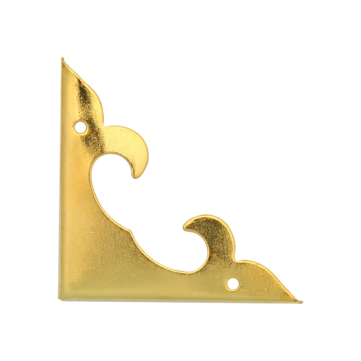 AR617 Уголок декоративный золото 30*30мм 8шт/упак