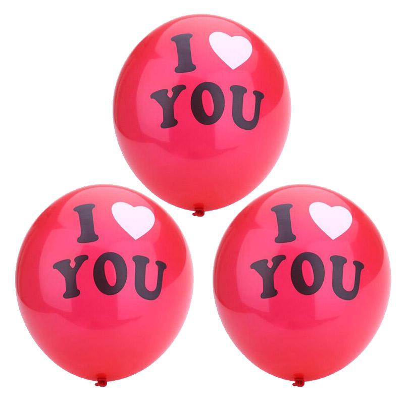 AR705 Воздушные шары красные 'I Love you'