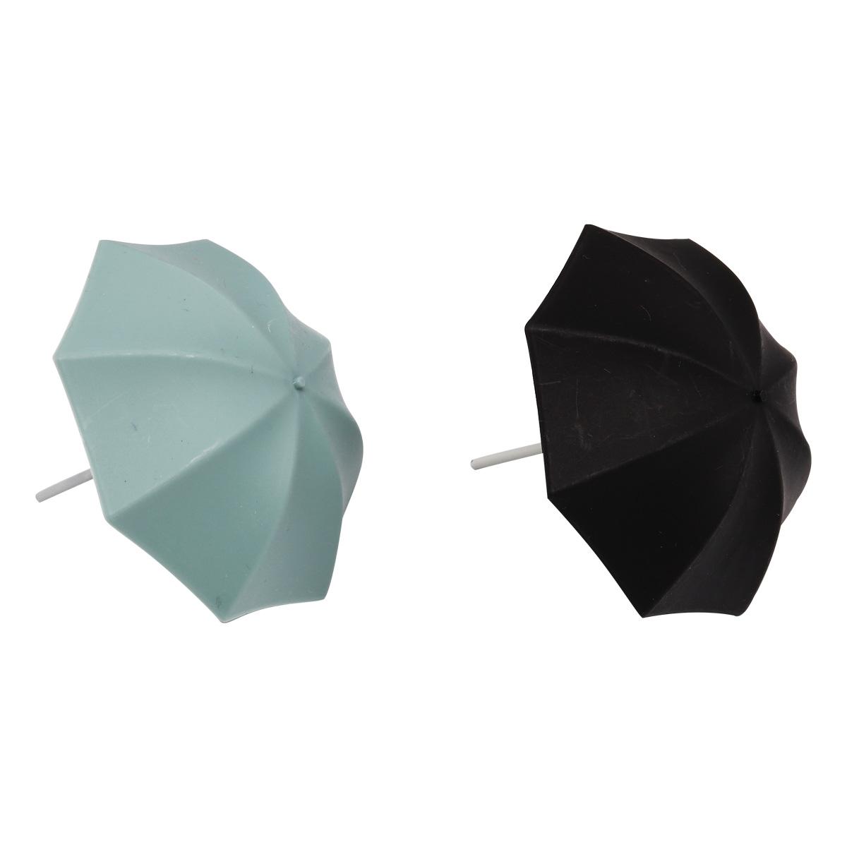 AR757 Зонтик пластмассовый микс 7*6см, 3шт/упак