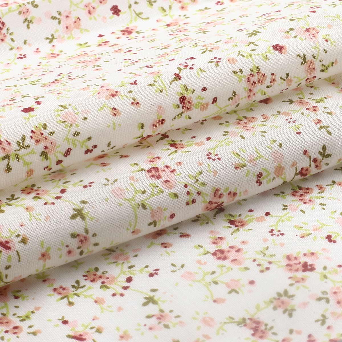 AR1013 Ткань хлопок в маленький цветочек, хлопок 50*50см