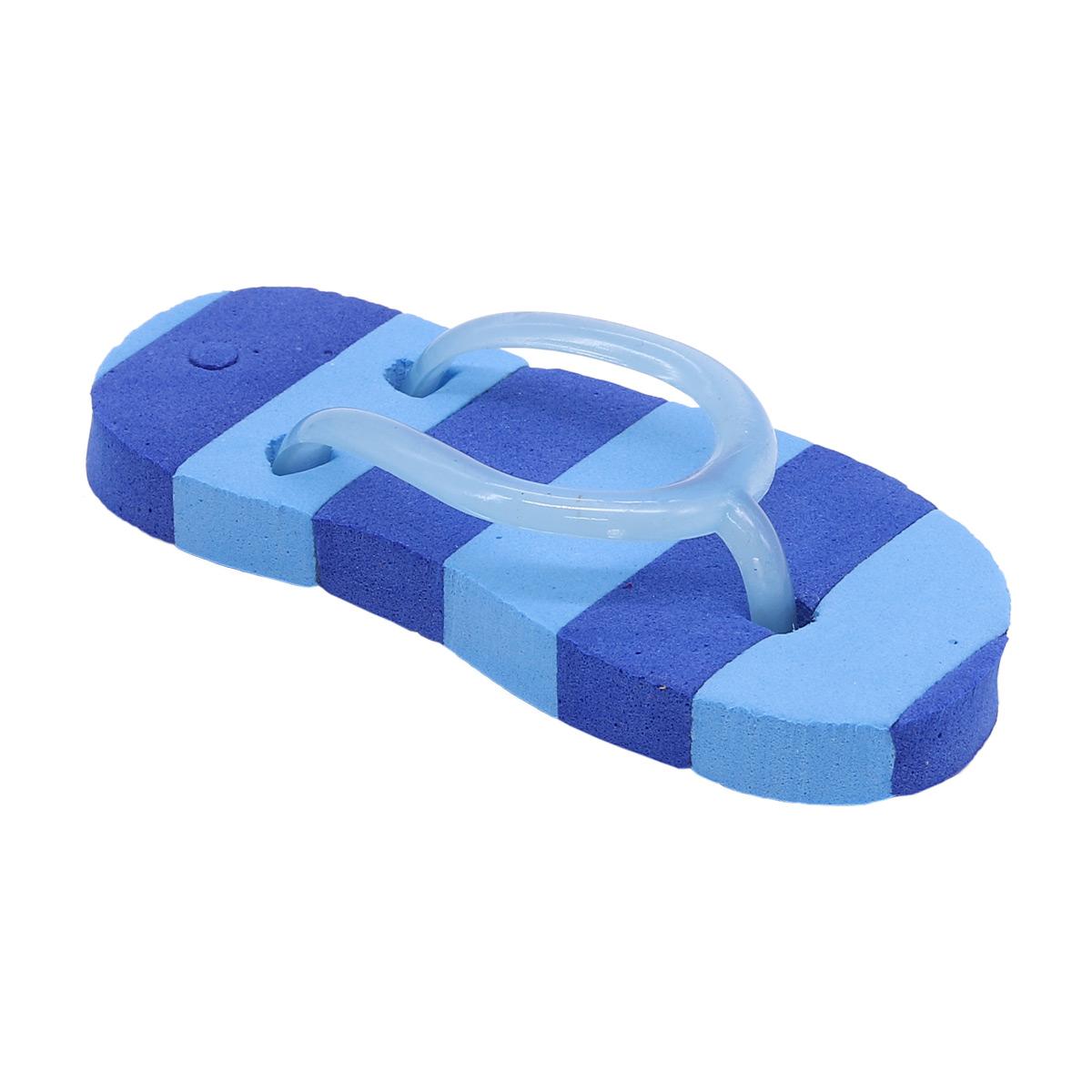 AR1057 Сланцы полосатые для брелка 7*3,5см (синий)