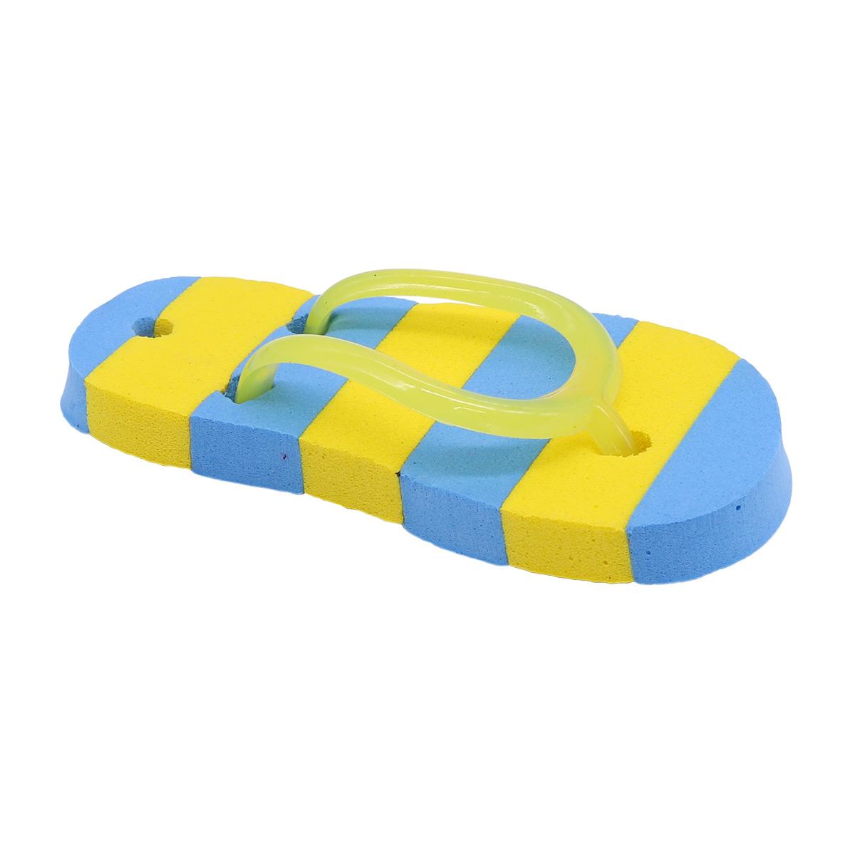 AR1057 Сланцы полосатые для брелка 7*3,5см (желтый)