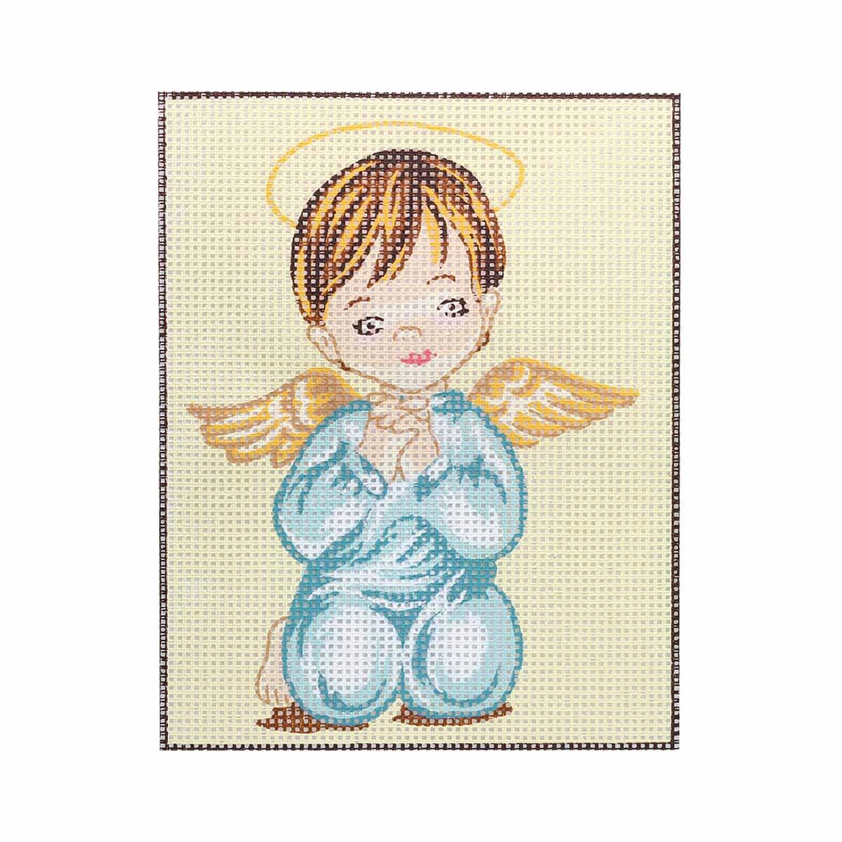 EP33 Комплект для вышивания 'Ангелочек 1' 25х20 см