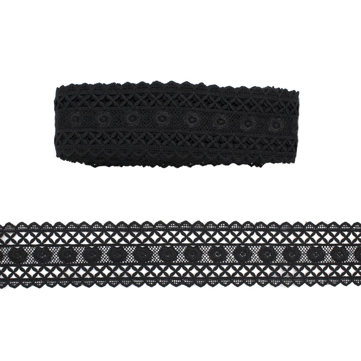 LA-006 Кружево Premium гипюр 6,5см*13,72м