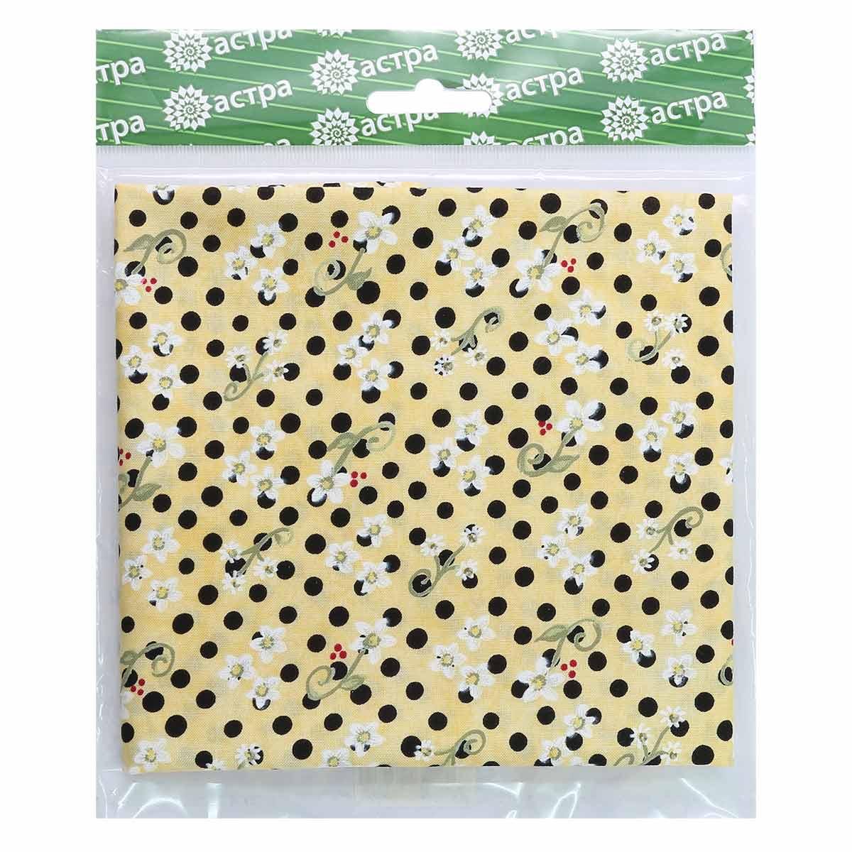 1223-3 TROY Ткань 100% хл, 50*55см Астра