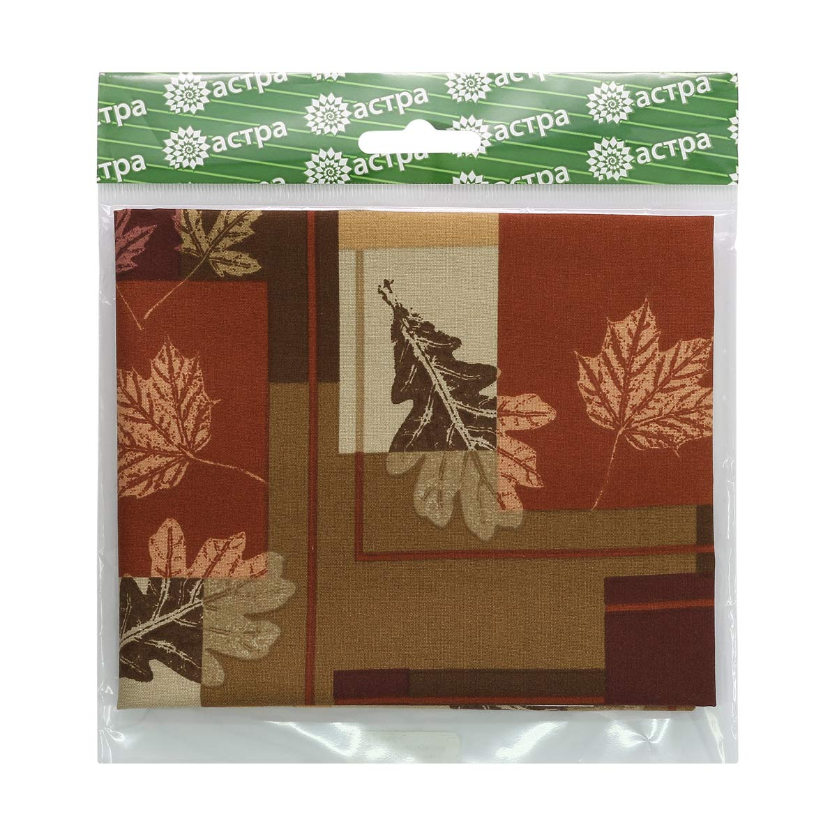 3968-47735-Square-Leaves CLASSIC СOTTONS Ткань 100% хл, 50*55см Астра
