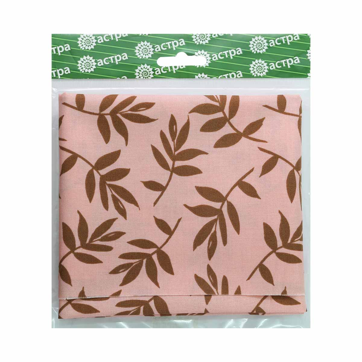 PWNW015-Peach FREE SPIRIT Ткань 100% хл,50*55см Астра