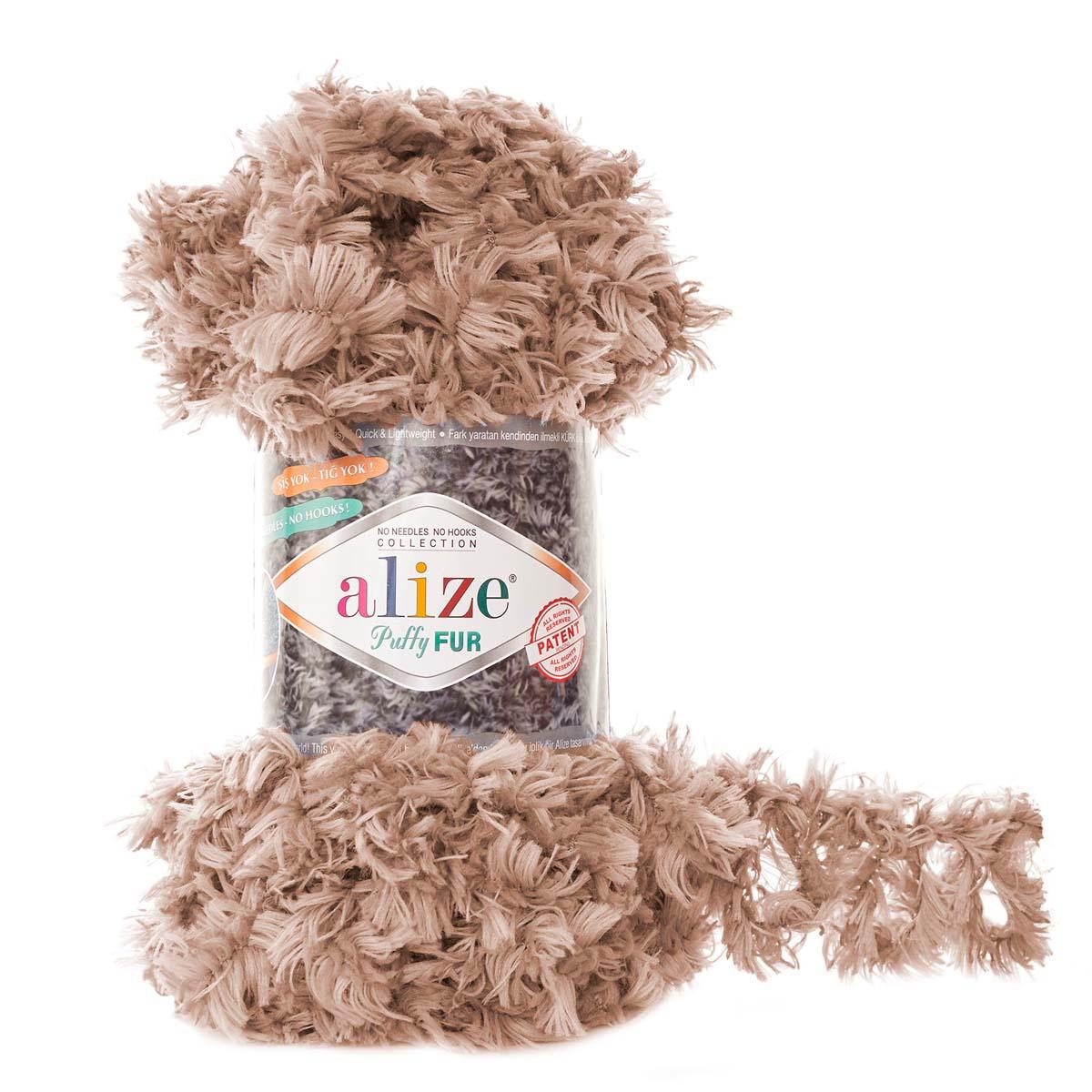 Пряжа Alize 'Puffy Fur' 100гр. 6м. (100% полиэстер) (6104) фото