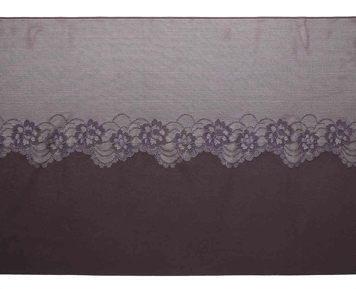 16Р Ткань эластичная бельевая 29см*10м (коричневый)